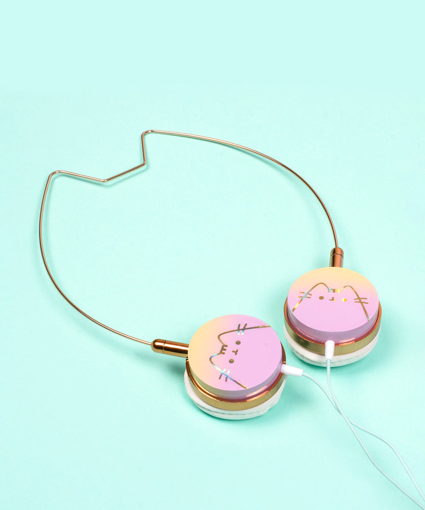 Pusheen Holographic Cat Ear Headphones