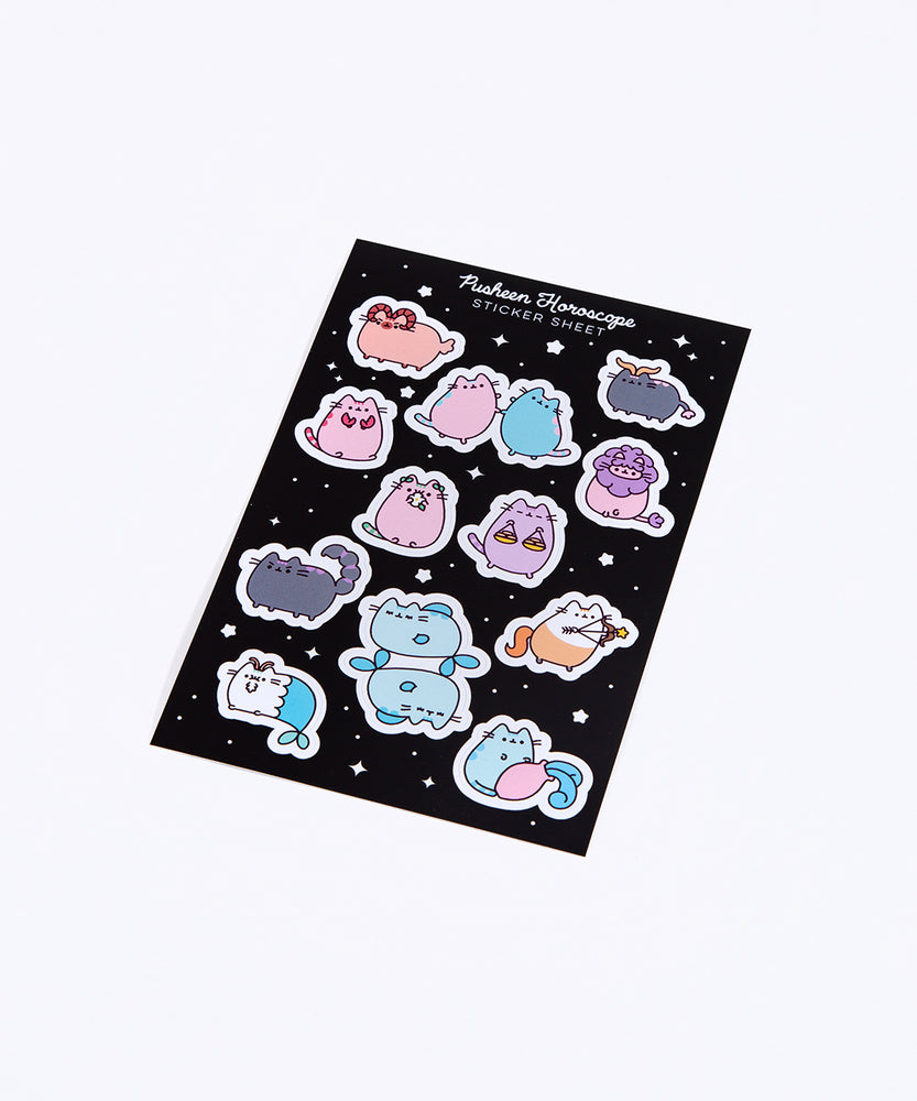 Pusheen Horoscope Sticker Sheets