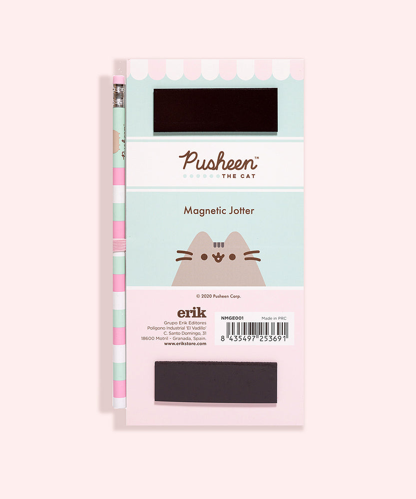 Pusheen Magnetic Notepad
