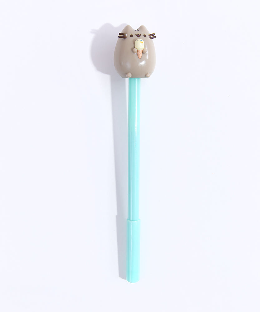 Pusheen Pen with Topper