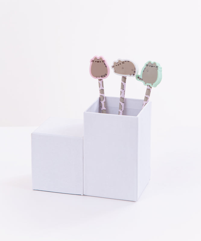 Pusheen Pencil with Eraser Topper