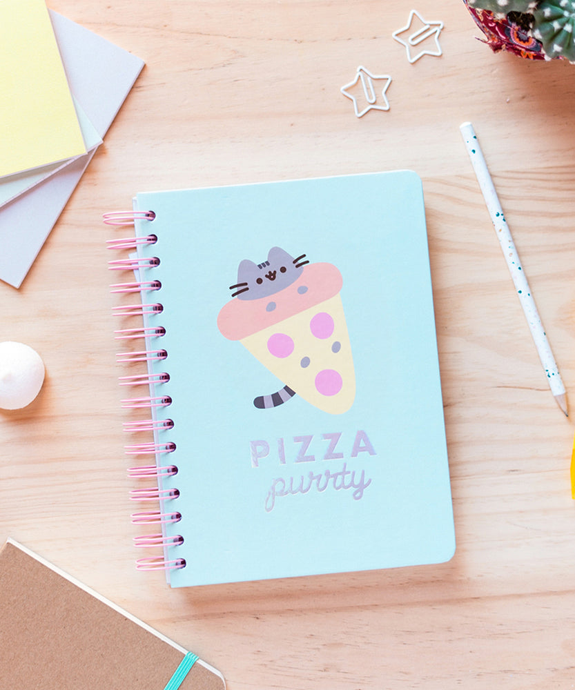 Pusheen Pizza Purrty Notebook