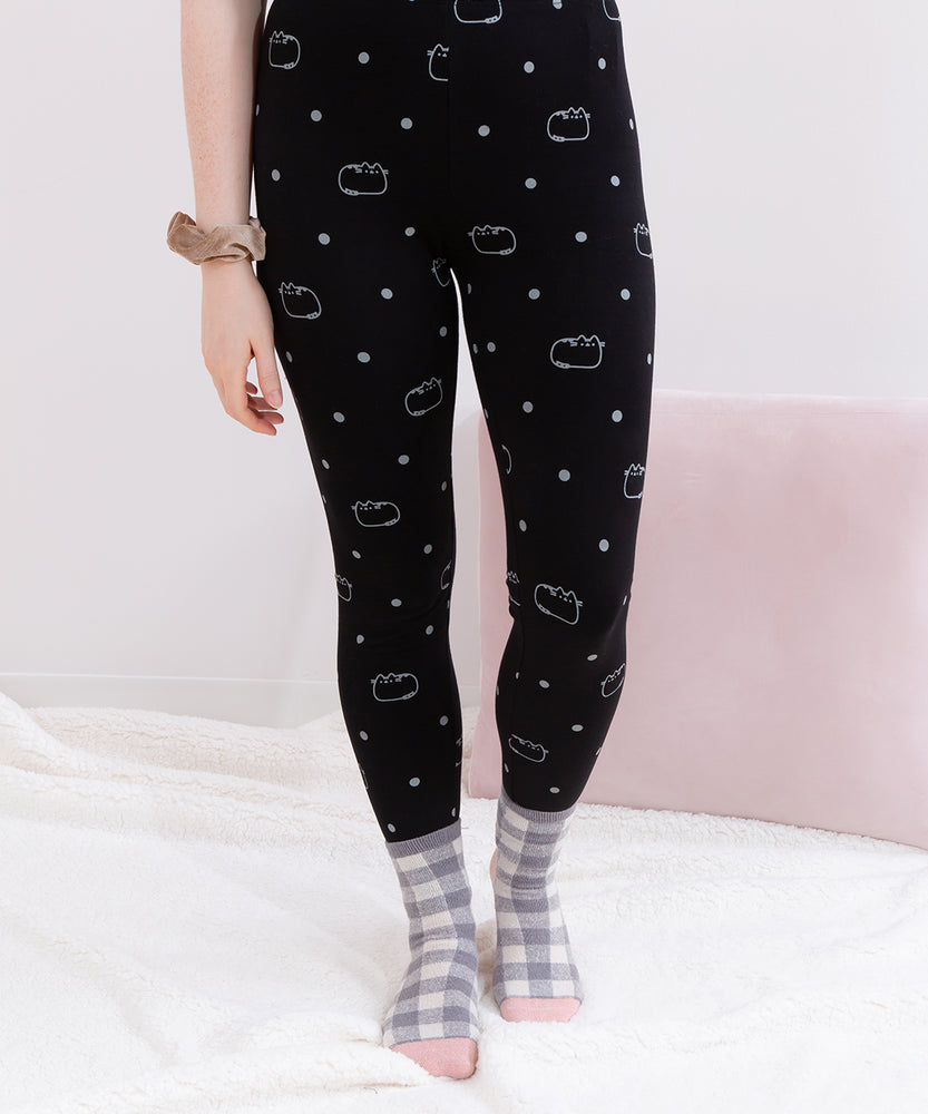 Pusheen Polka Dot Ladies Leggings