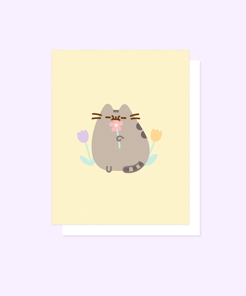 Pusheen Spring Card