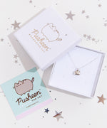 Pusheen Sterling Silver Charm Necklace