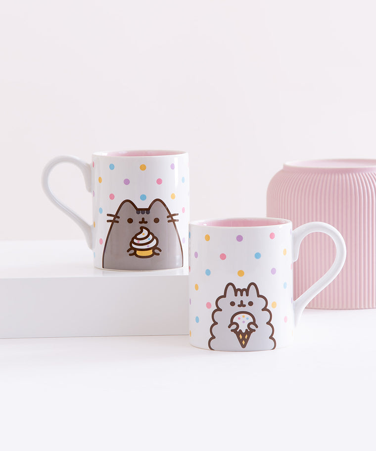Pusheen & Stormy Mug Set