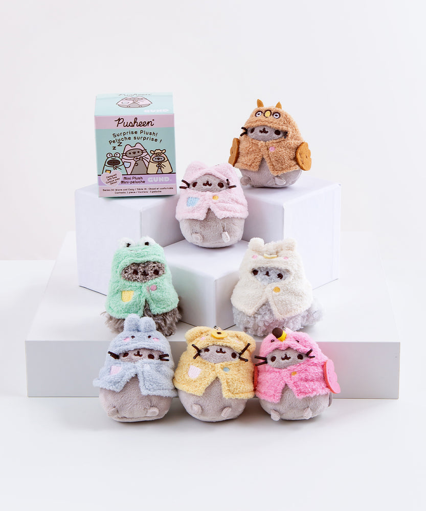 Pusheen Surprise Plush - Warm and Cozy