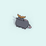 Pusheen Taurus Pin
