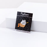 Pusheen Sagittarius Pin