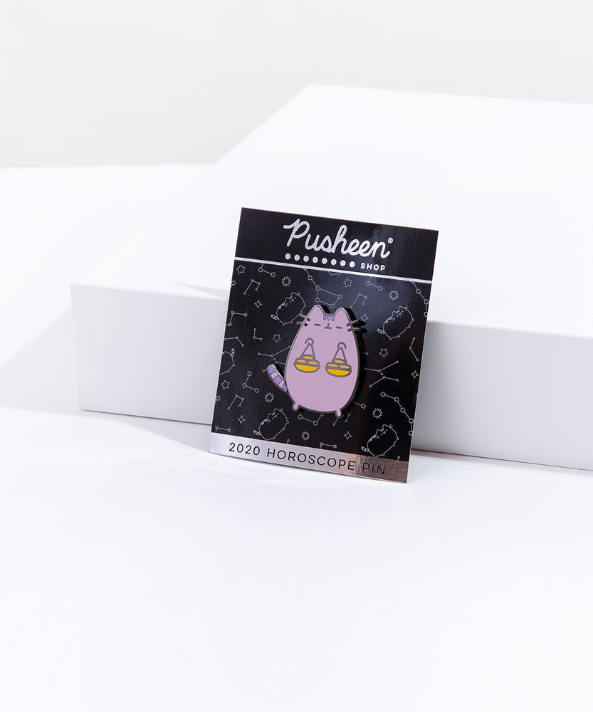 Pusheen Libra Pin