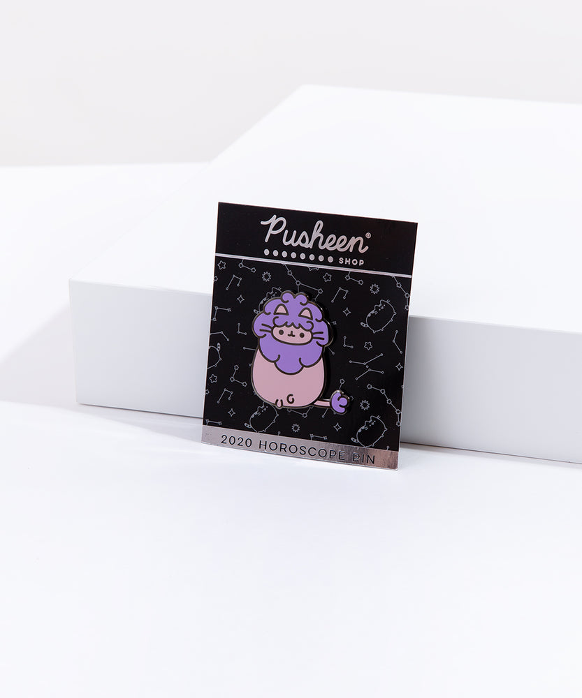 Pusheen Leo Pin