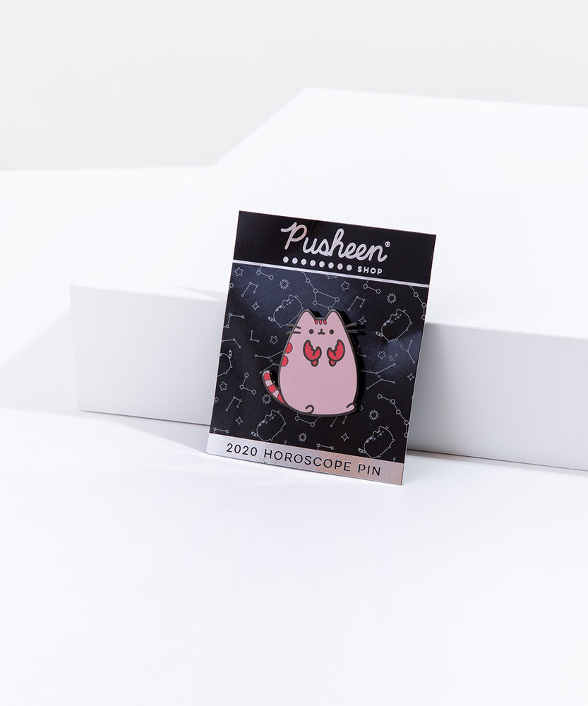 Pusheen Cancer Pin