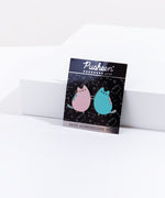 Pusheen Gemini Pin