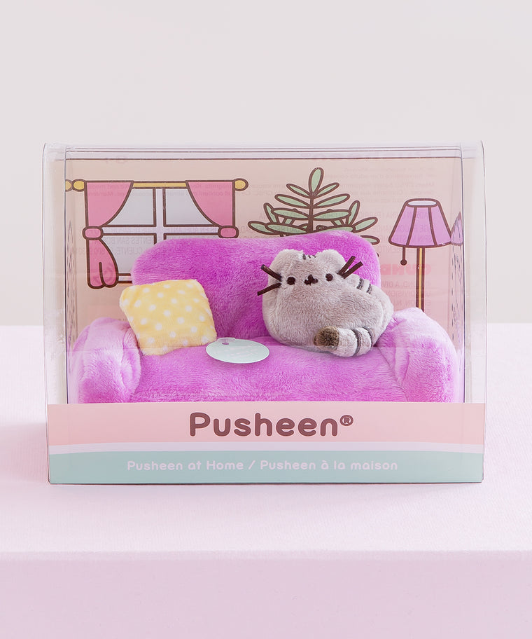 Pusheen at Home Plush Figurine