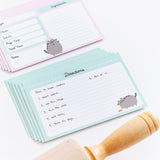 Pusheen Recipe Card Set