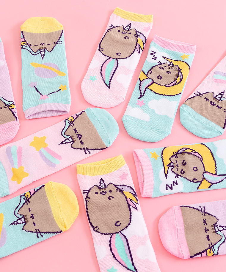 Pusheenicorn 5-Pack Ankle Socks