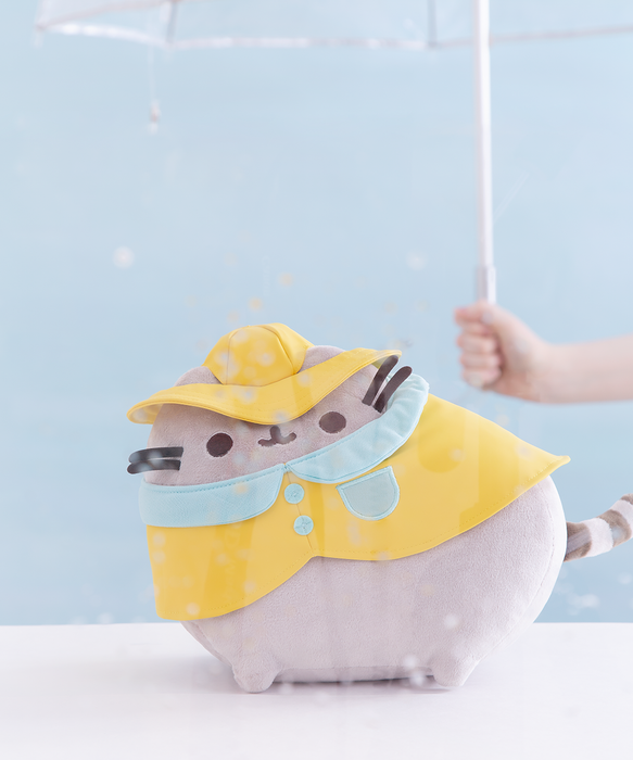 Exclusive Raincoat Pusheen Plush Toy