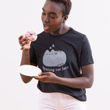 Pusheen Resting Cat Face Ladies Tee