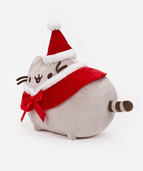 Santa Pusheen plush toy