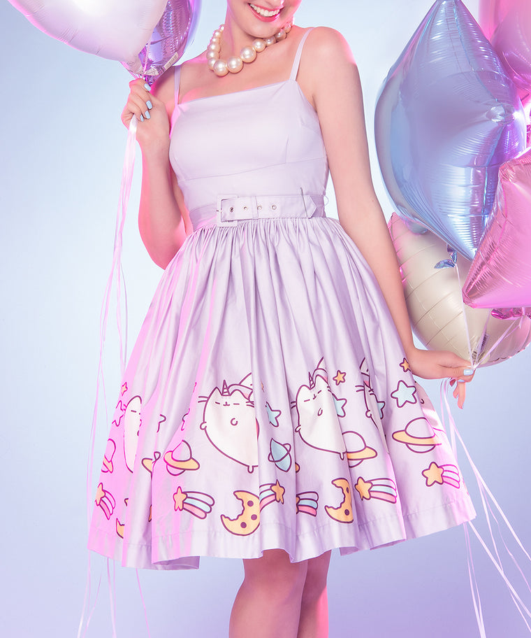 Super Pusheenicorn Fit & Flare Dress