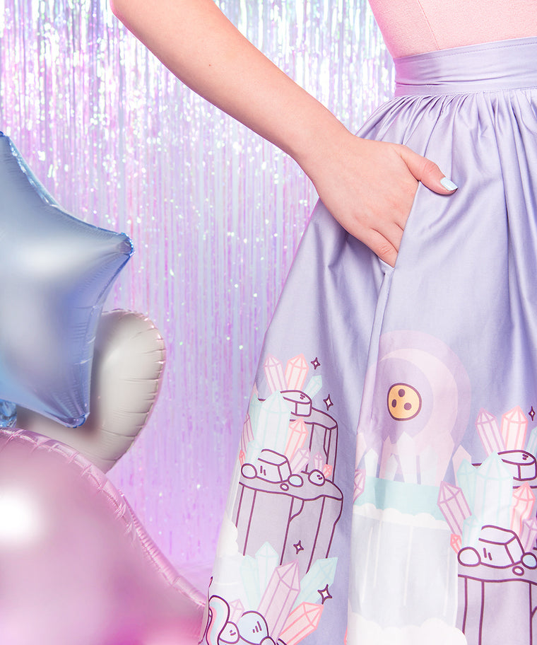 Pusheenicorn Crystal Caverns Skirt