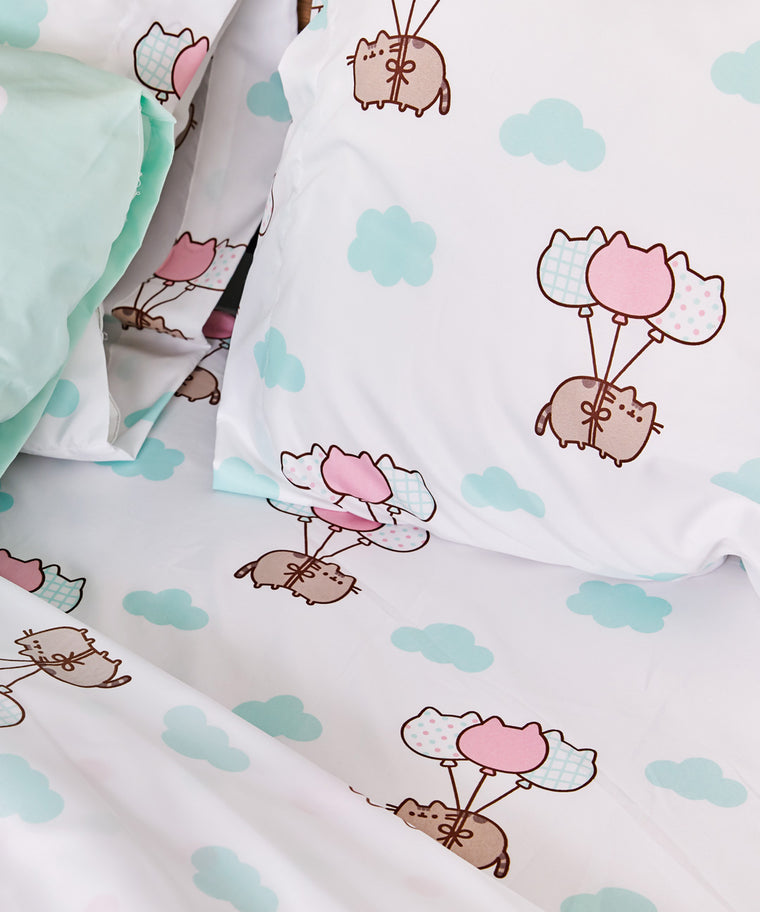 Pusheen Full/Queen Sheet Set