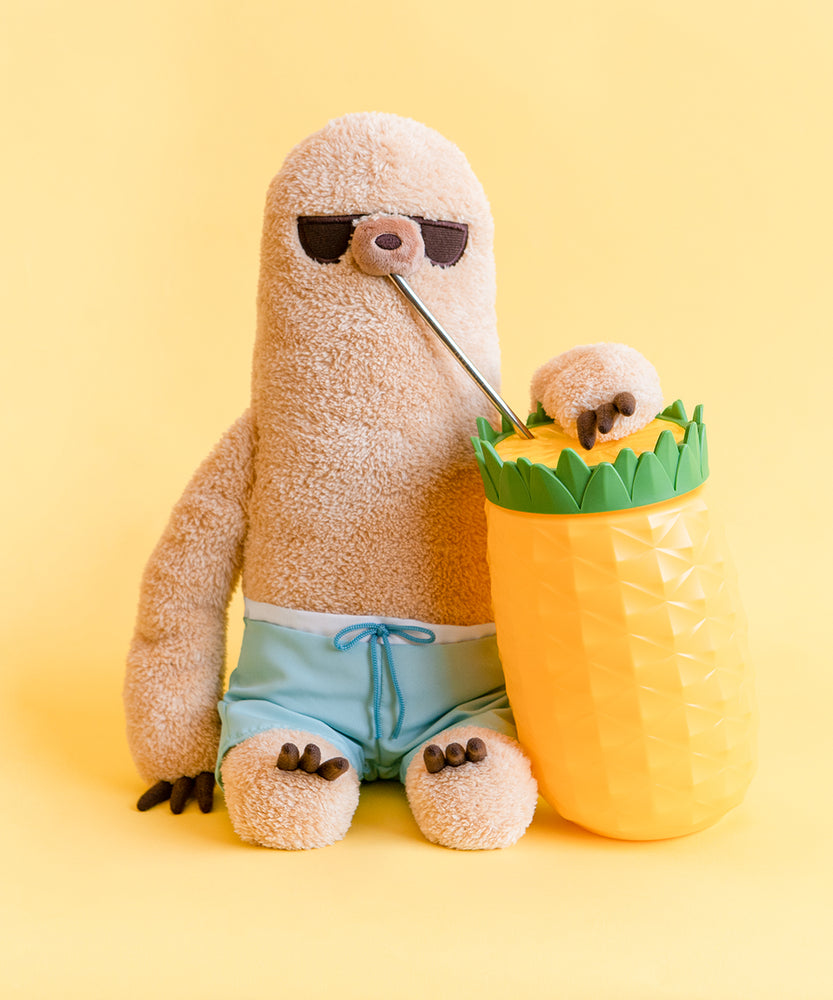 Summer Sloth Plush