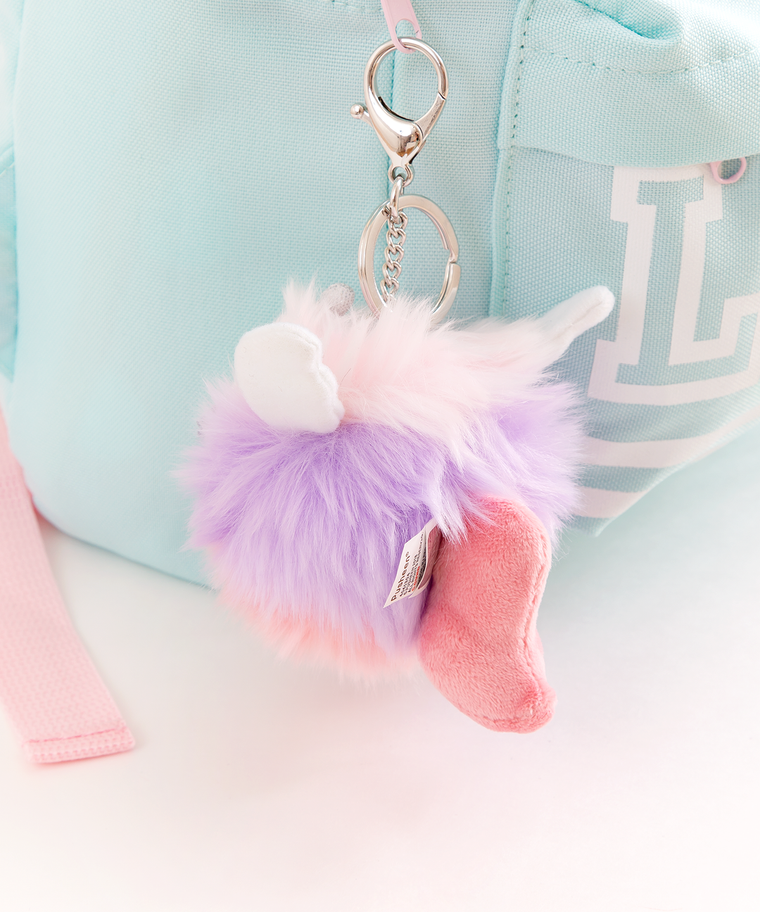 Super Pusheenicorn Pouf Keychain