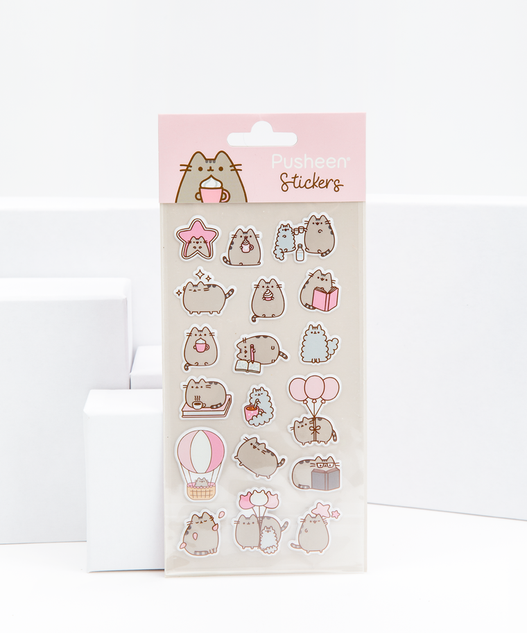 Sweet & Simple Pusheen Super Puffy Stickers