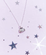 Super Pusheenicorn Charm Necklace