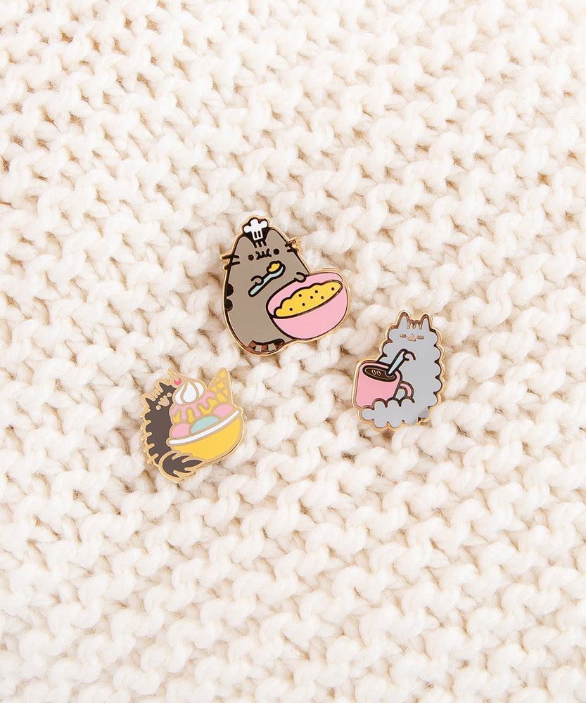 Pusheen Sweet Treats Pin Set