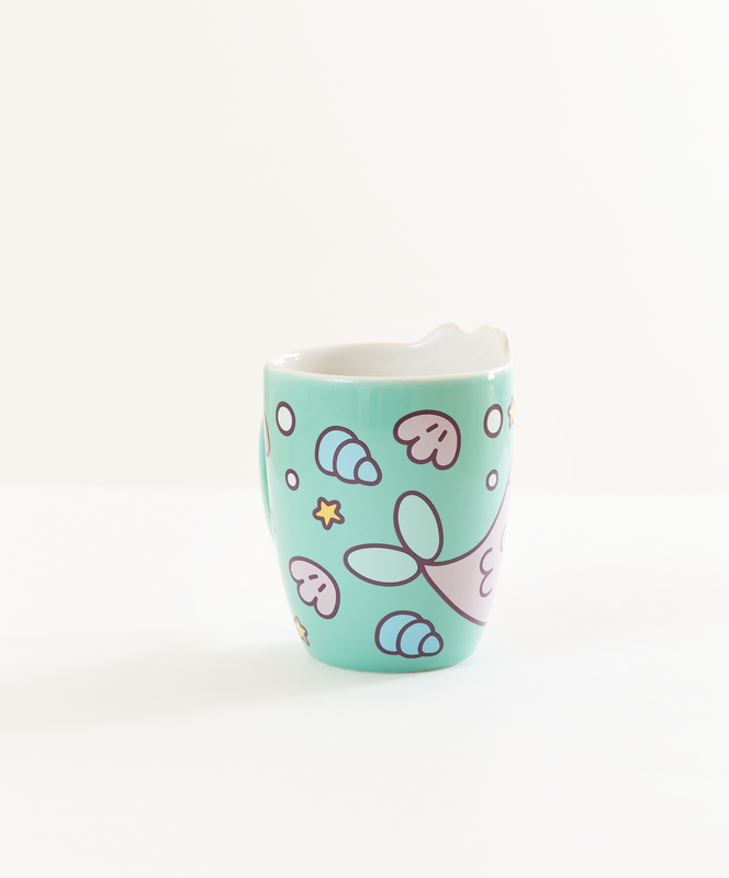 Mermaid Pusheen Mug