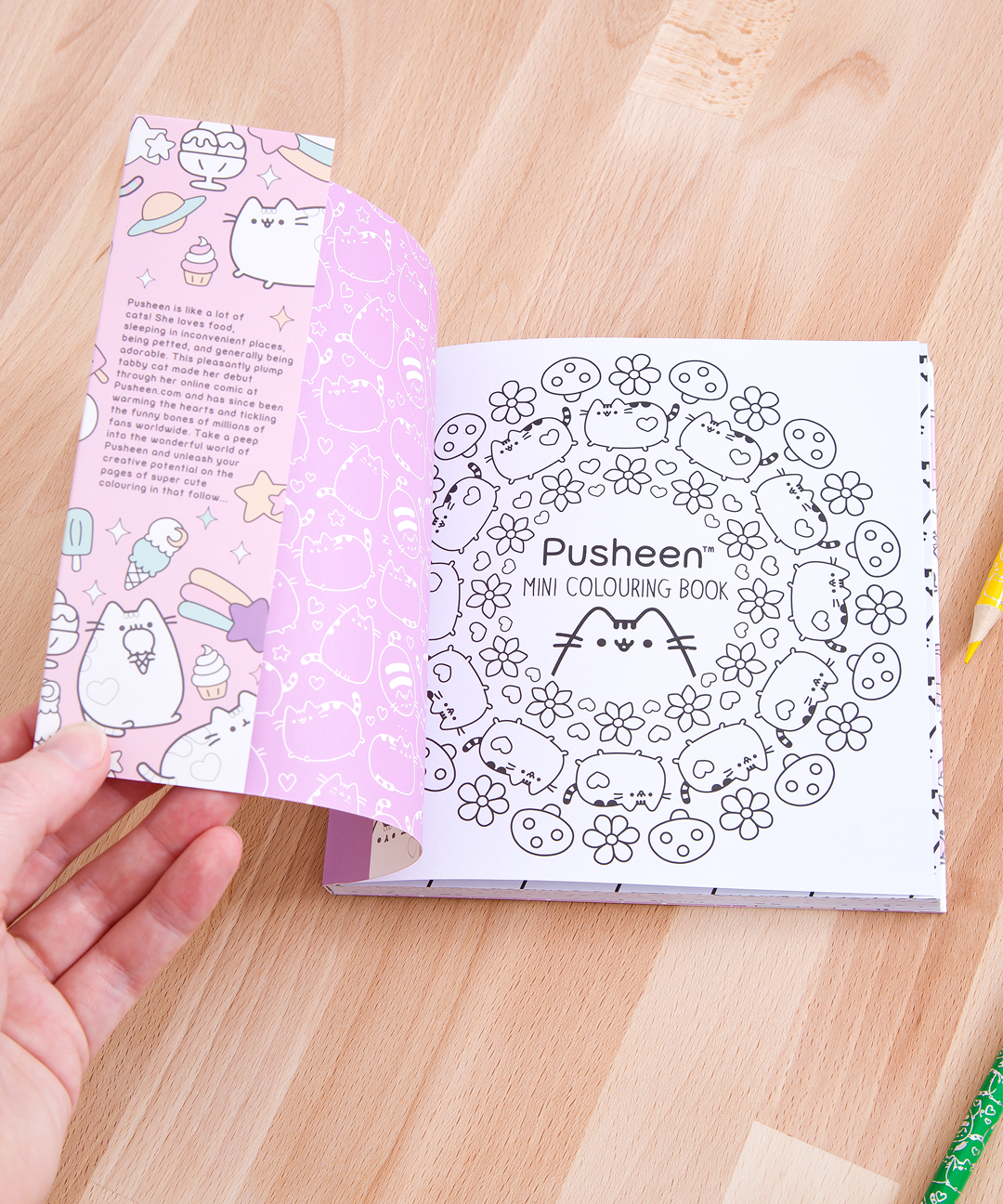 Mini Coloring Book Travel Set – Pusheen Shop
