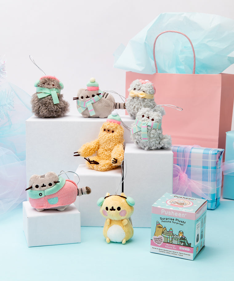 Pusheen Surprise Plush Blind Box - Winter Wonderland