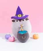 Witch Pusheen Plush with Light-Up Cauldron