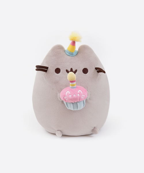 Birthday Pusheen plush toy