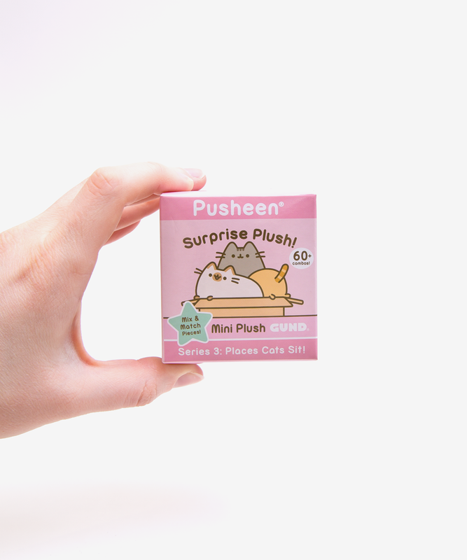Pusheen Surprise Plush Blind Box - Places Cats Sit