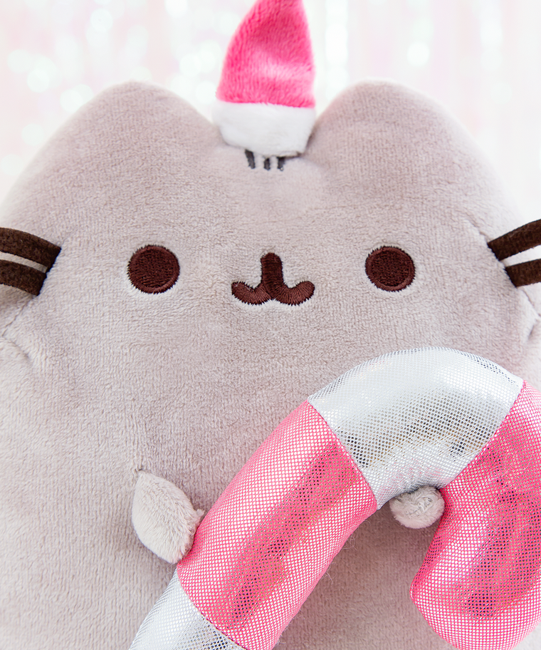 Candy Cane Pusheen Plush