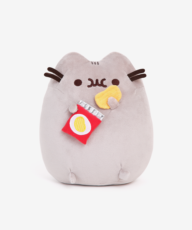 Potato Chip Pusheen Plush Toy