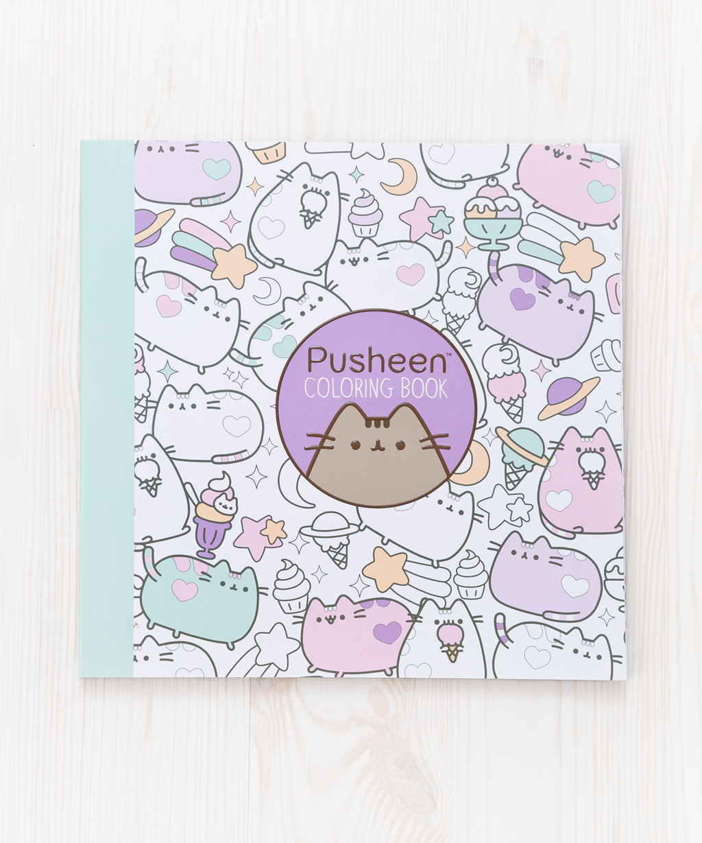 pusheen the cat coloring book u2013 hey chickadee