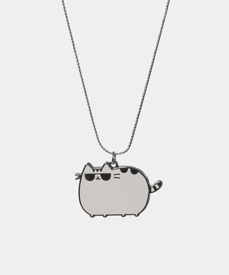 Cool Pusheen necklace