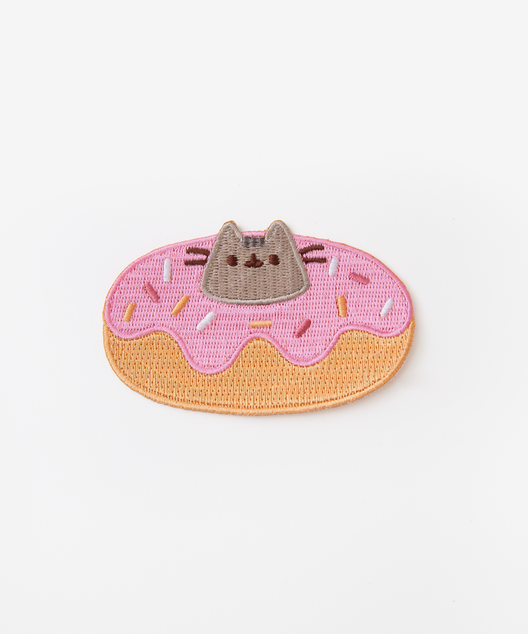 Donut Pusheen Iron On Patch