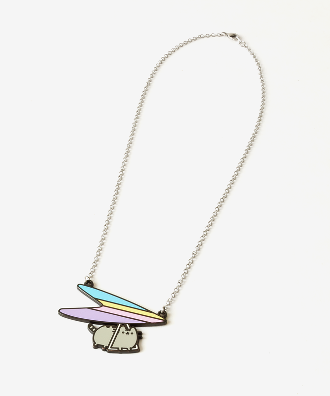 Glider Pusheen Necklace