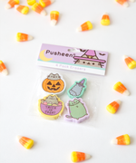 Pusheen Halloween Eraser Set