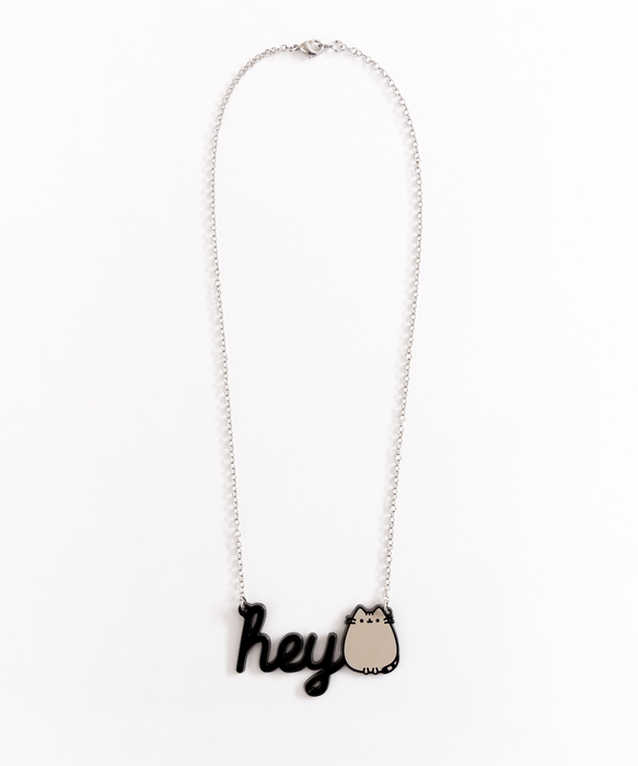 Hey Pusheen Necklace