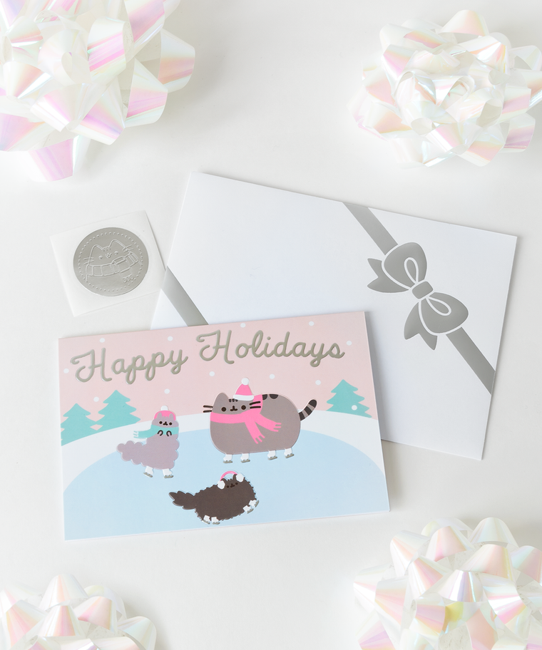 Exclusive Pusheen Holiday Card