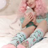 Pusheen Holiday Knee Socks