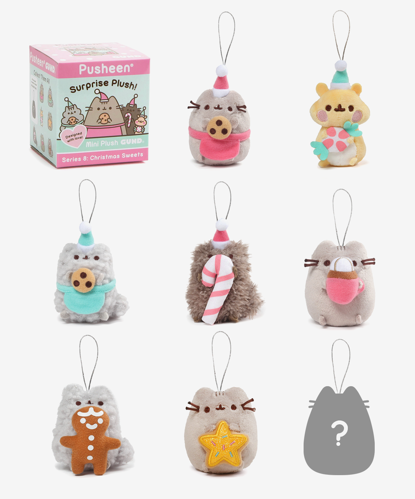 Pusheen Surprise Plush - Christmas Sweets