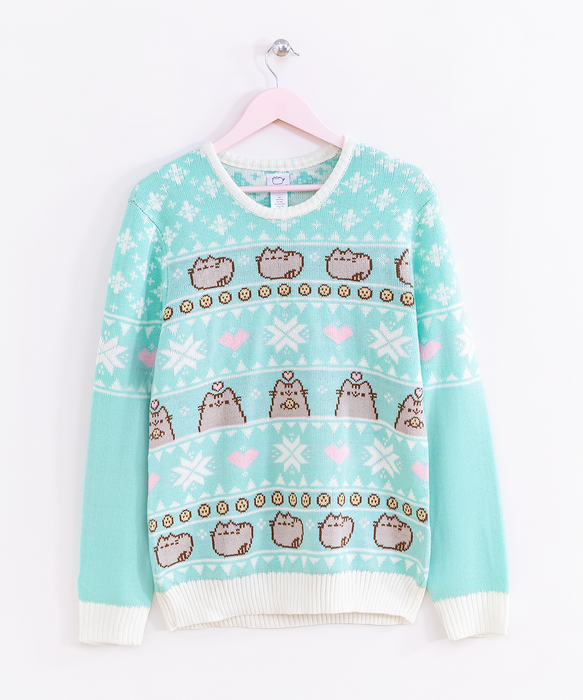 Pusheen Unisex Holiday Knit Sweater