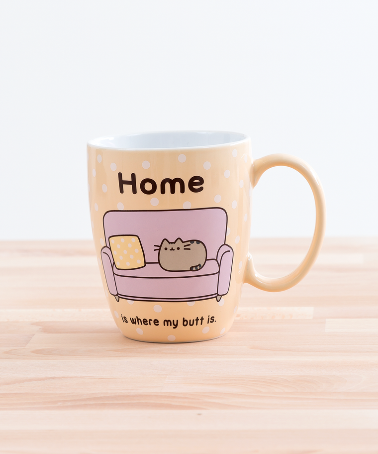 Pusheen at Home Mug